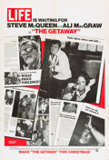 "Movie Posters:Action, The Getaway (National General, 1972). One Sheet (27"" X 41"") LifeMagazine Advance Style.. ..."
