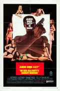 "Movie Posters:James Bond, On Her Majesty's Secret Service (United Artists, 1970). One Sheet (27"" X 41"") Style A.. ..."