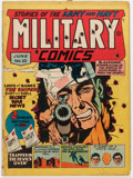 Golden Age (1938-1955):War, Military Comics #10 (Quality, 1942) Condition: VG-....