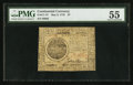 Colonial Notes:Continental Congress Issues, Continental Currency May 9, 1776 $7 PMG About Uncirculated 55.. ...