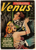 Golden Age (1938-1955):Horror, Venus #19 (Timely, 1952) Condition: Apparent GD-....