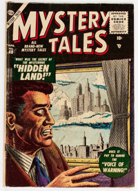 Mystery Tales #40 (Atlas, 1956) Condition: VG-