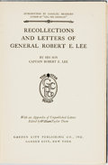 Books:Biography & Memoir, [Robert E. Lee]. Recollections and Letters of General Robert E.Lee. Garden City Publishing, [1924]. Publisher's nav...