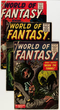 Silver Age (1956-1969):Horror, World of Fantasy Group (Atlas, 1956-59) Condition: Average VG+....(Total: 6 Comic Books)