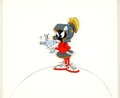 Animation Art:Production Cel, Spaced Out Bunny Marvin the Martian Publicity Cel (WarnerBrothers, 1980)....