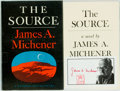 Books:Literature 1900-up, James A. Michener. SIGNED. The Source. New York: RandomHouse, [1965]. First edition. Signed by the author on a bo...