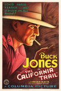 """Movie Posters:Western, California Trail (Columbia, 1933). One Sheet (27"""" X 41"""") Very Fineon Linen. ..."""