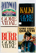 Books:Literature 1900-up, Gore Vidal. SIGNED. Group of Four First Editions. Includes tworeading copies and two copies signed by the author. New Y...(Total: 4 Items)