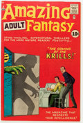 Silver Age (1956-1969):Science Fiction, Amazing Adult Fantasy #8 (Marvel, 1962) Condition: FN....