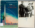 Books:World History, [Soviet Space Missions]. SIGNED. K. Tsiolkovsky. Way to theStars. Moscow, 1960. Text in Russian. Signed by Ga...