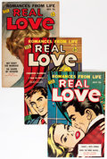 Golden Age (1938-1955):Romance, Real Love Group (Ace Periodicals, 1950-56) Condition: Average VF-.... (Total: 14 Comic Books)