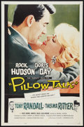"Movie Posters:Comedy, Pillow Talk (Universal, 1959). One Sheet (27"" X 41"") Doris Day'swholesome image played perfectly against Rock Hudson's suav..."