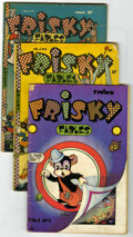 Golden Age (1938-1955):Funny Animal, Miscellaneous Golden Age Funny Animal Group (Various Publishers,1945-55). Included are Frisky Fables V1#1 (GD), V2#6 (G... (Total:14 Comic Books)