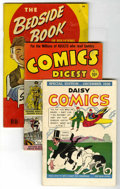 Golden Age (1938-1955):Miscellaneous, Miscellaneous Golden Age Small Comics Group (Various Publishers, 1936-50). This group lot of various digest-size and miniatu... (Total: 5 Comic Books)