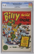 Golden Age (1938-1955):Humor, Billy the Kid and Oscar #1 Crowley Copy pedigree (Fawcett, 1945) CGC NM 9.4 Cream to off-white pages. ...