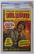 Golden Age (1938-1955):War, Bill Battle, The One Man Army #2 Crowley Copy pedigree (Fawcett,1952) CGC NM- 9.2 Off-white to white pages. Photo cover. Ov...