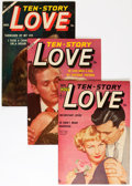 Golden Age (1938-1955):Romance, Ten Story Love Group (Ace, 1952-56) Condition: Average FN/VF....(Total: 11 Comic Books)