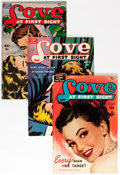 Golden Age (1938-1955):Romance, Love at First Sight Group (Ace, 1950-56) Condition: AverageFN/VF.... (Total: 21 Comic Books)