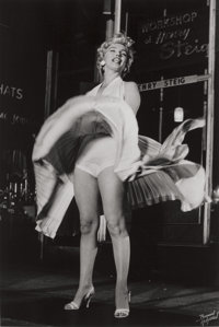 BRUNO (BERNARD OF HOLLYWOOD) BERNARD (German, 1912-1987) Marilyn Monroe (from The Seven Year Itch), 195