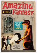 Silver Age (1956-1969):Science Fiction, Amazing Adult Fantasy #10 (Marvel, 1962) Condition: FN....