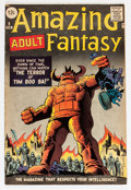 Silver Age (1956-1969):Science Fiction, Amazing Adult Fantasy #9 (Marvel, 1962) Condition: FN....