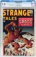 Silver Age (1956-1969):Science Fiction, Strange Tales #83 (Marvel, 1961) CGC FN/VF 7.0 Cream to off-whitepages....