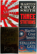Books:Mystery & Detective Fiction, Martin Cruz Smith. Group of Four First Editions. Various publishersand dates. Original bindings and dust jackets. Near fine... (Total:4 Items)