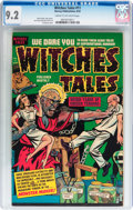 Golden Age (1938-1955):Horror, Witches Tales #11 (Harvey, 1952) CGC NM- 9.2 Cream to off-whitepages....