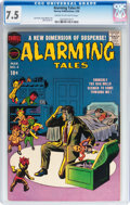 Silver Age (1956-1969):Horror, Alarming Tales #4 (Harvey, 1958) CGC VF- 7.5 Cream to off-whitepages....