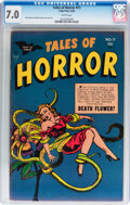 Golden Age (1938-1955):Horror, Tales of Horror #11 (Toby Publishing, 1954) CGC FN/VF 7.0 Whitepages....