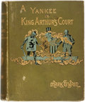 Books:Literature Pre-1900, Mark Twain. A Connecticut Yankee in King Arthur's Court. NewYork: Webster, 1889. First issue with 'S' ornament. Pub...