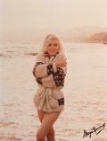 Photographs:Chromogenic, GEORGE BARRIS (American, b. 1928). Beach Sweater, The LastShoot, 1962. Chromogenic, 1987. 13-1/2 x 10-1/4 inches (34.3...