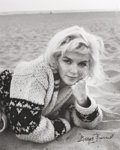 Photographs, GEORGE BARRIS (American, b. 1928). Laying in the Sand, The Last Shoot, 1962. Gelatin silver. 9-5/8 x 7-5/8 inches (24.4 ...