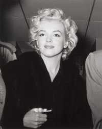 KASHIO AOKI (Japanese, 20th Century) Marilyn, Straight On, 1954 Gelatin silver, 2001 10 x 8 inche
