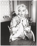 Photographs, GEORGE BARRIS (American, b. 1928). Marilyn Monroe, Wondering, 1962. Gelatin silver. 9 x 7 inches (22.9 x 17.8 cm). Signe...