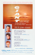 "Movie Posters:Drama, Giant (Warner Brothers, 1956). One Sheet (27"" X 41.5"").. ..."