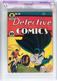 Detective Comics #46 (DC, 1940) CGC Apparent FN 6.0 Slight (P) Cream to off-white pages