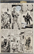Original Comic Art:Panel Pages, Alfredo Alcala Weird War Tales #16 Page 8 Original Art (DCComics, 1973)....