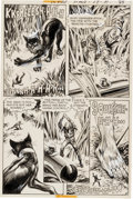 Original Comic Art:Panel Pages, Alfredo Alcala Weird War Tales #28 Page 19 Original Art (DCComics, 1974)....