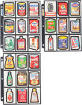 Memorabilia:Trading Cards, Wacky Packages Die-Cut Series Group (Topps, 1967-68). ... (Total:27 Items)