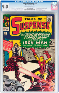 Tales of Suspense #52 (Marvel, 1964) CGC VF/NM 9.0 Off-white to white pages