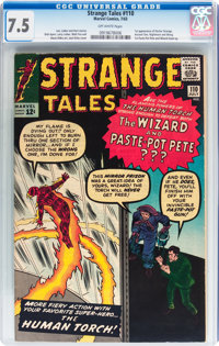 Strange Tales #110 (Marvel, 1963) CGC VF- 7.5 Off-white pages