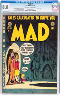 Golden Age (1938-1955):Humor, Mad #1 (EC, 1952) CGC VF 8.0 Off-white to white pages....
