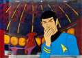 Animation Art:Production Cel, Star Trek Spock Production Cel Setup and Master Background (Filmation, 1973).... (Total: 7 Items)