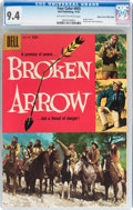 Silver Age (1956-1969):Western, Four Color #855 Broken Arrow - Mile High pedigree (Dell, 1957) CGCNM 9.4 Off-white to white pages....