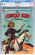 Golden Age (1938-1955):Western, Four Color #292 The Cisco Kid (Dell, 1950) CGC NM- 9.2 Off-whitepages....