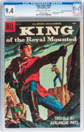 Silver Age (1956-1969):Adventure, Four Color #935 King of the Royal Mounted - Mile High pedigree (Dell, 1958) CGC NM 9.4 Off-white to white pages....