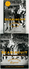Books:Americana & American History, Laura Hillenbrand. Seabiscuit: Am American Legend. New York:Random House, [2001]. Movie tie-in edition and special ... (Total:2 Items)