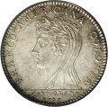 Colonials: , 1796 MEDAL Castorland Medal, Silver AU55 PCGS. Breen-1058. Light chestnut and pearl-gray toning graces this boldly struck a...