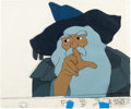 Animation Art:Production Cel, Lord of the Rings Gandalf Production Cel Setup (UnitedArtists, 1978).... (Total: 2 Items)